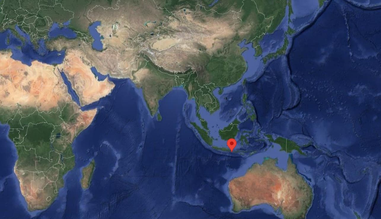 Χάρτης του Μπαλί
