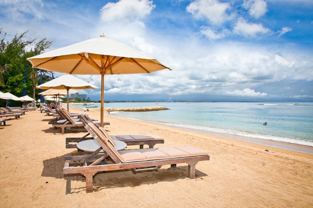 Sanur παραλία στο Μπαλί