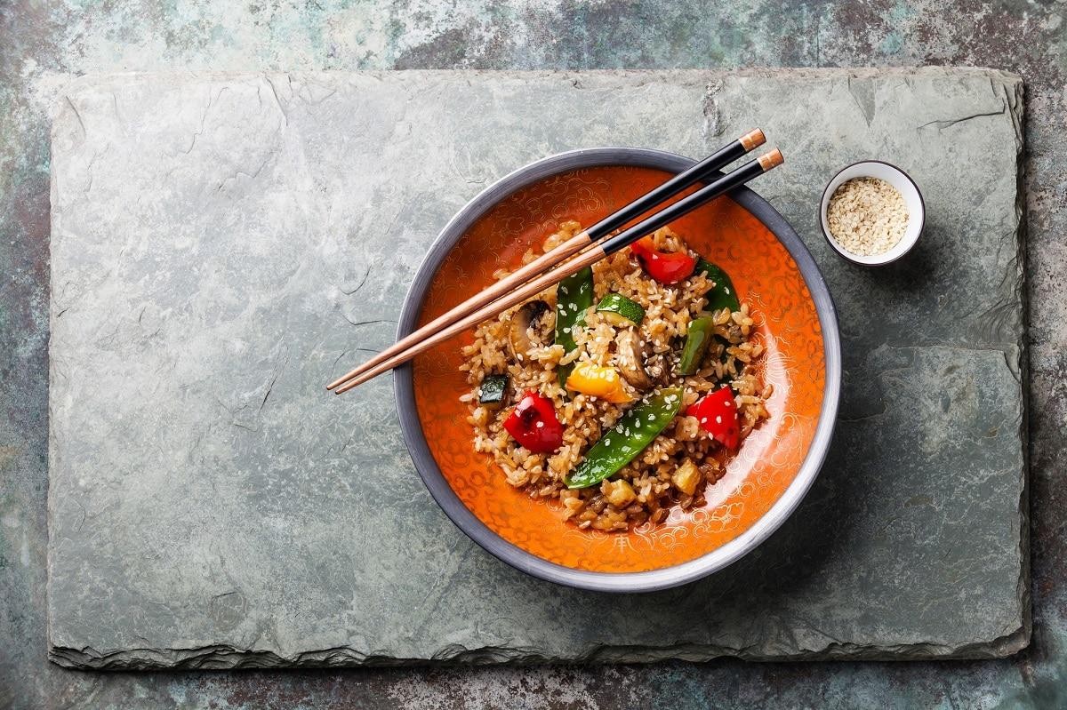 nasi goreng  τηγανητό ρύζι